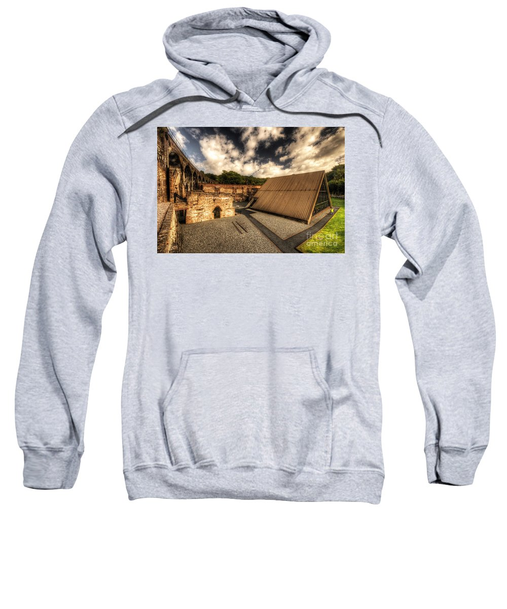 Blast Sweatshirt featuring the photograph Birthplace Of A Revolution by Rob Hawkins