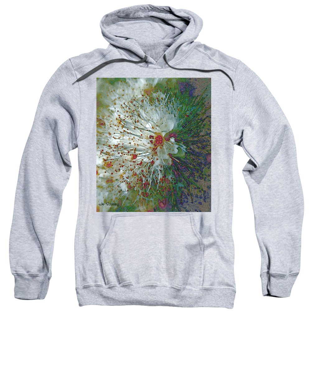 Flowers Sweatshirt featuring the photograph Bouquet Of Snowflakes by Joanne Smoley