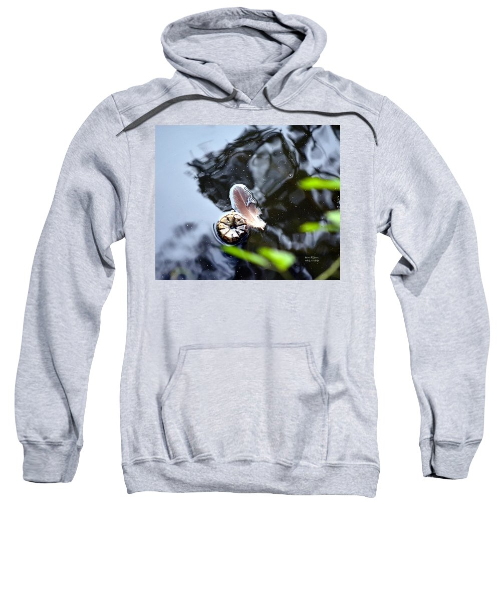 Buddies Sweatshirt featuring the photograph Buddies by Maria Urso