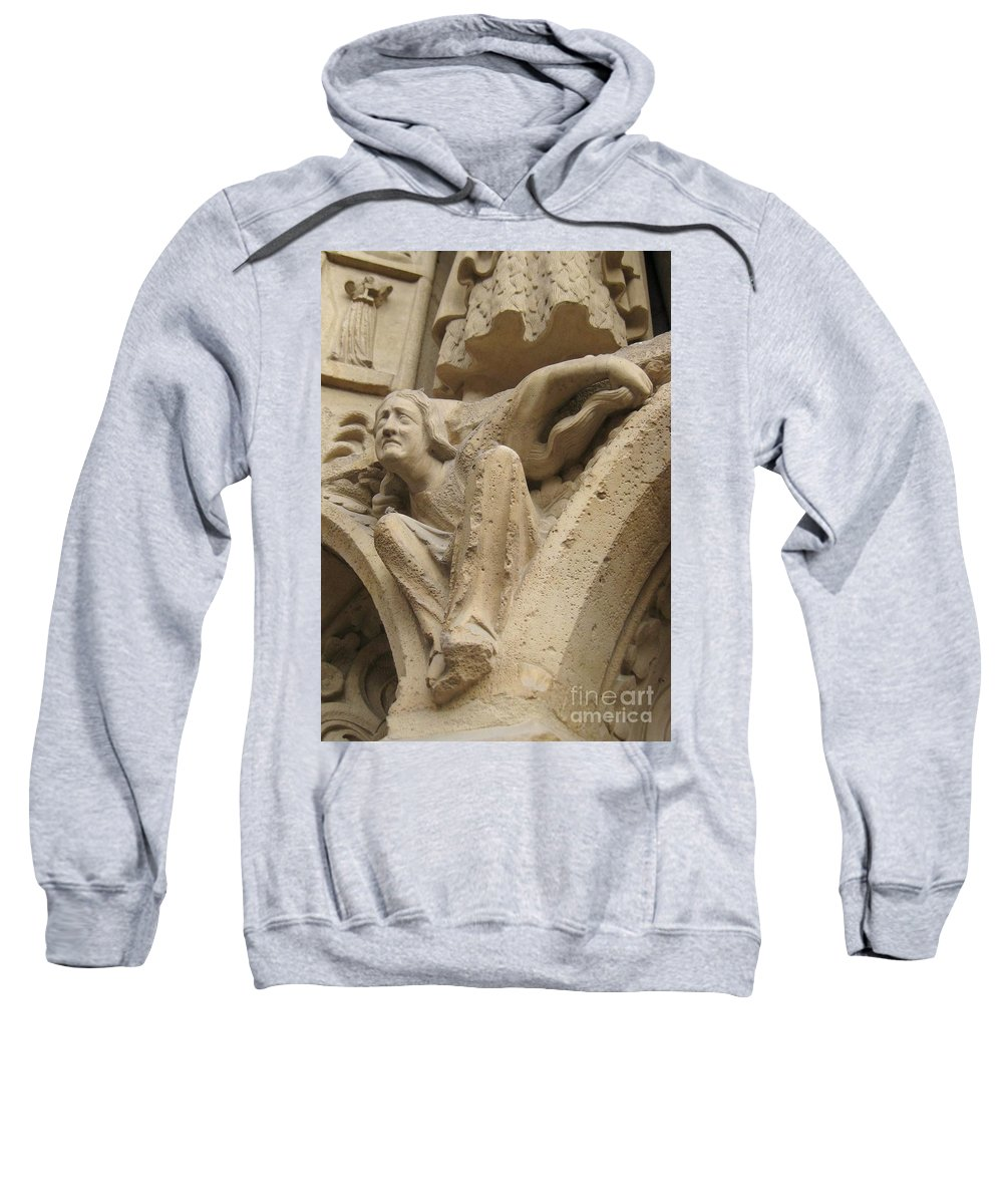 Devil Sweatshirt featuring the photograph Burden Two by John Malone