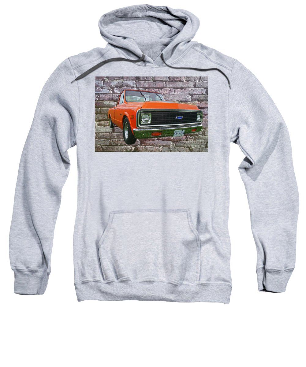Trucks Sweatshirt featuring the photograph Cadp243-12 by Randy Harris