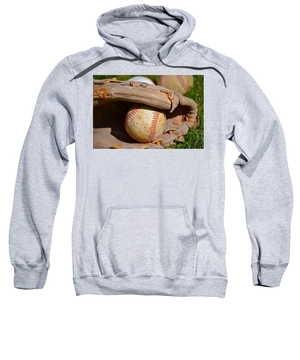 Can Of Corn Sweatshirt featuring the photograph Can Of Corn by Bill Owen