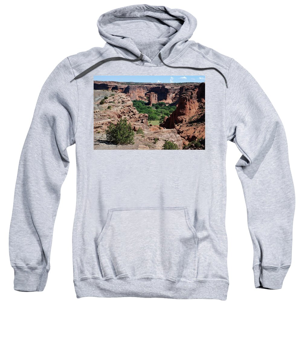 Arizona Sweatshirt featuring the photograph Canyon De Chelly by Dany Lison