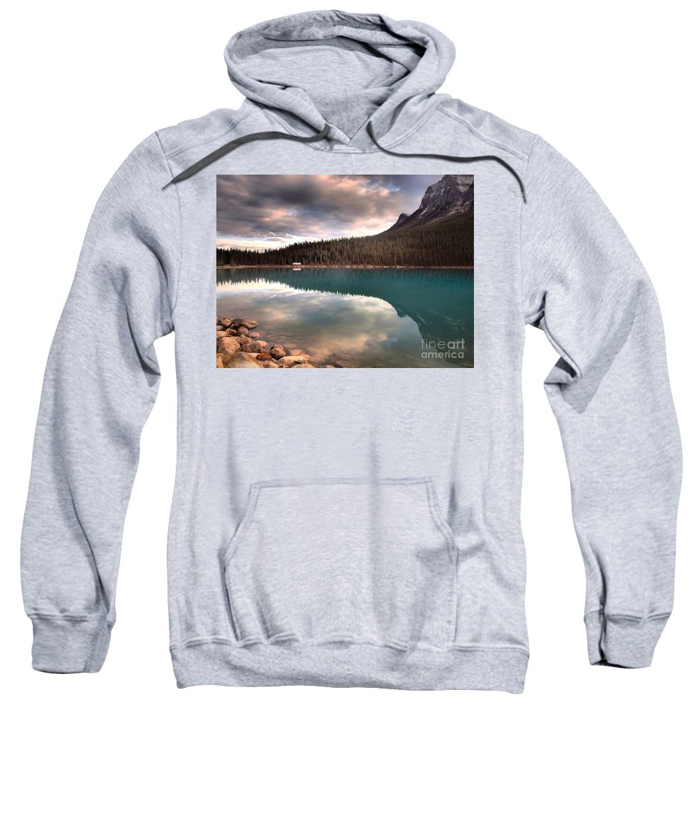 Mountains Sweatshirt featuring the photograph Caught In Reflections by Tara Turner
