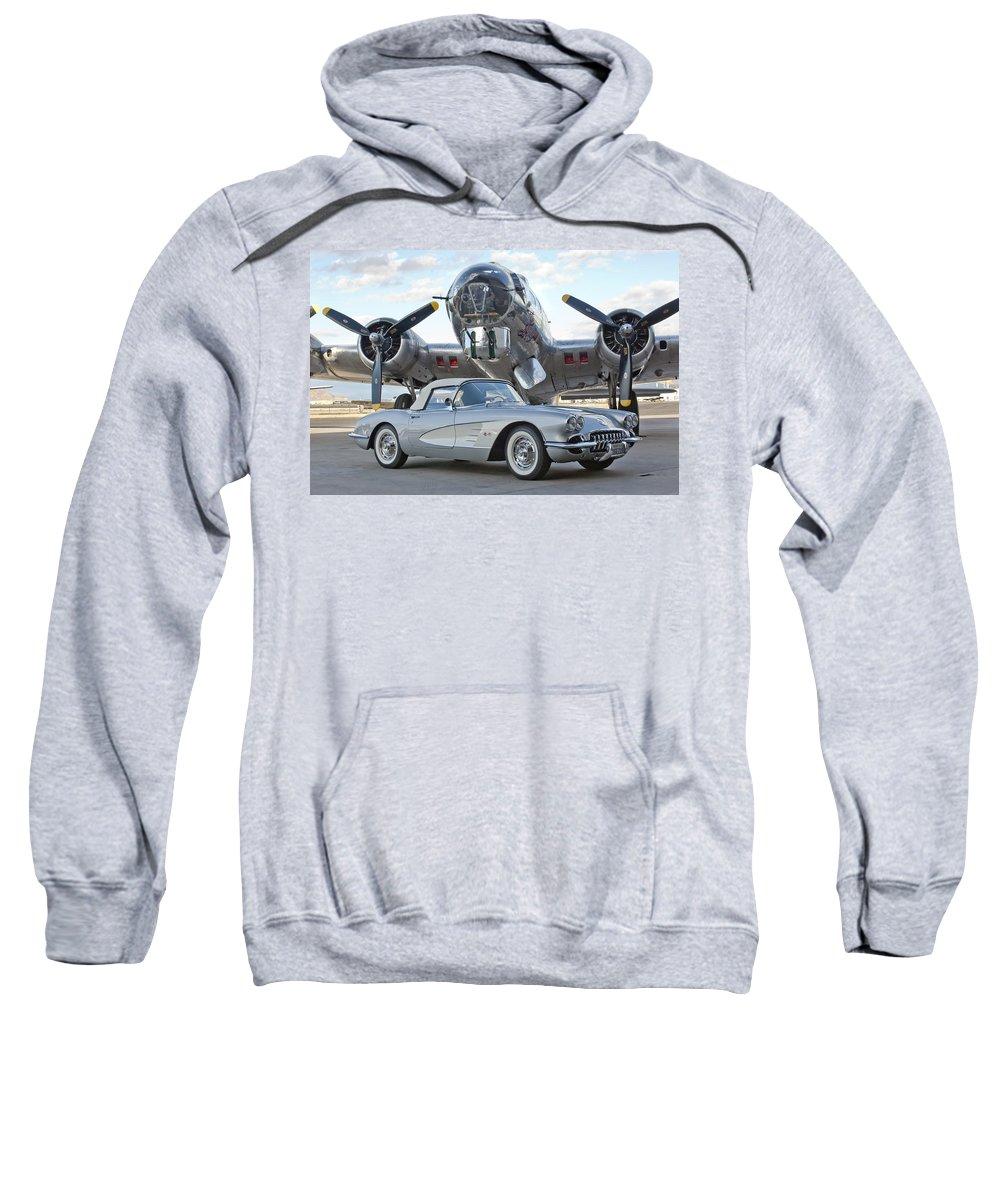 Sweatshirt featuring the photograph Cc 17 by Jill Reger