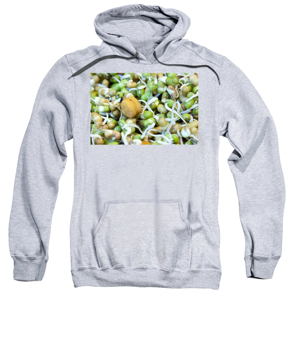 Health Sweatshirt featuring the photograph Chickpea And Other Lentils In The Form Of Healthy Eatable Sprouts by Ashish Agarwal