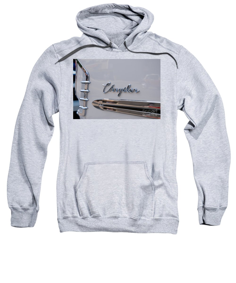 Chrysler Sweatshirt featuring the photograph Chrysler by Vivian Christopher