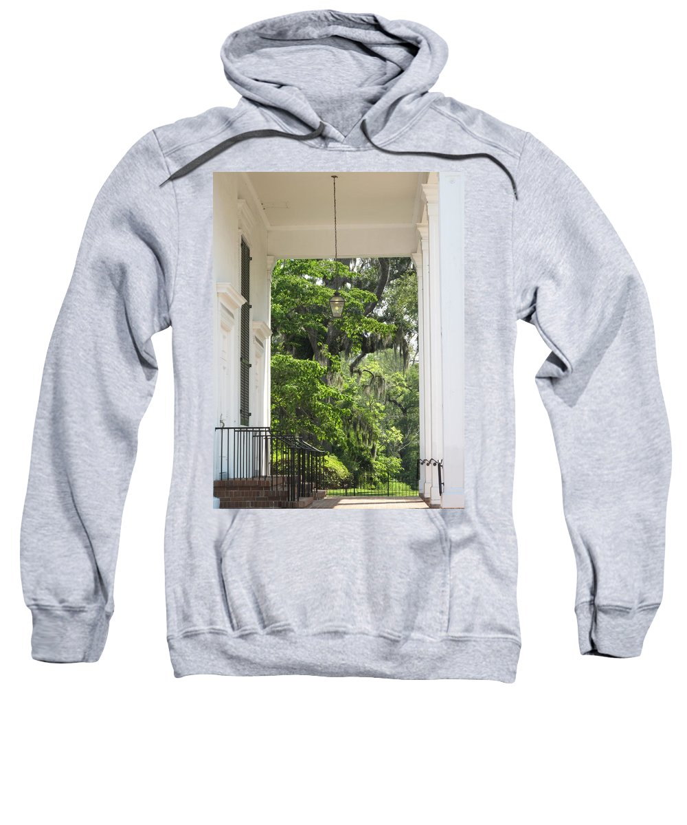 Church Sweatshirt featuring the photograph Church Entrance by Michele Nelson