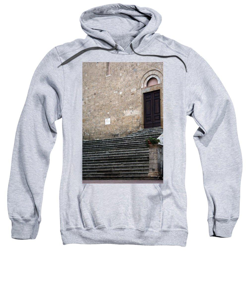 Italy Sweatshirt featuring the photograph City 0042 by Carol Ann Thomas