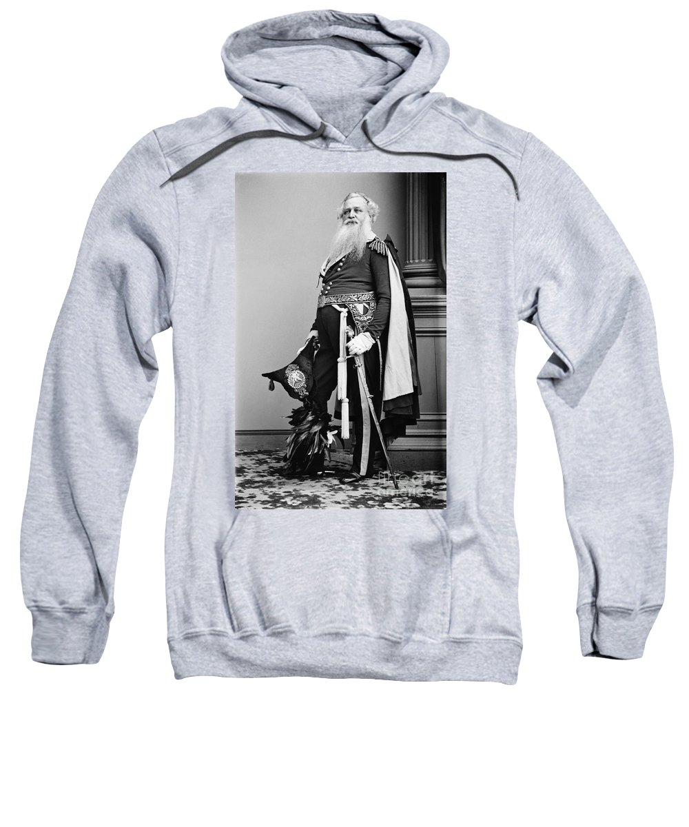 1865 Sweatshirt featuring the photograph Civil War: Union General by Granger