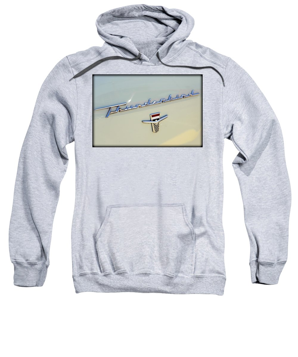 Ford Sweatshirt featuring the photograph Classic T-bird by Ricky Barnard