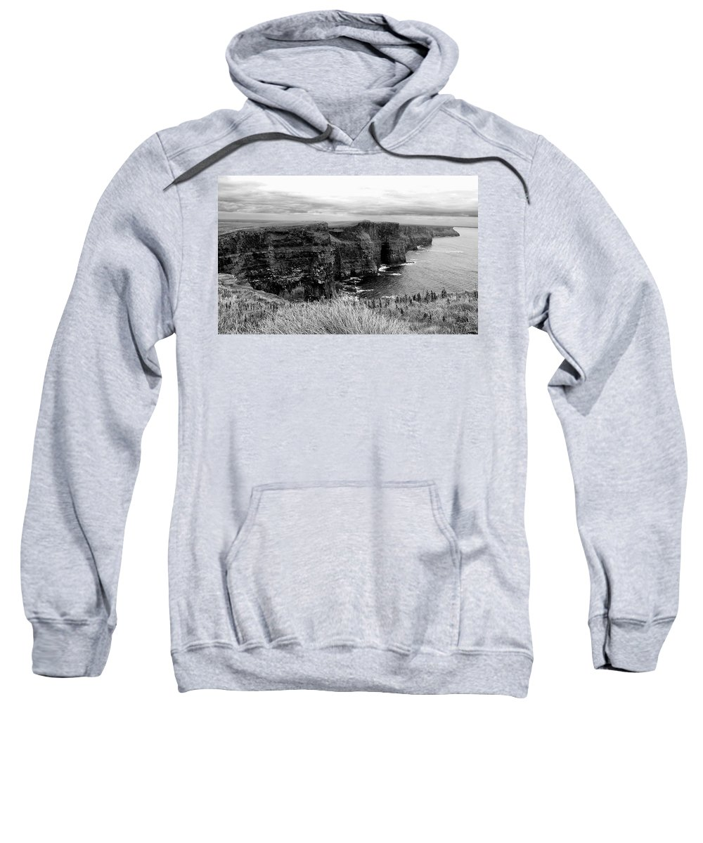 Ireland Sweatshirt featuring the photograph Cliffs Of Moher by David Resnikoff