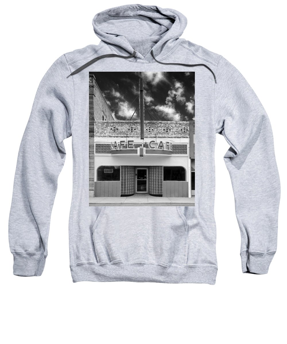 Cafe Sweatshirt featuring the photograph Closed by Dominic Piperata