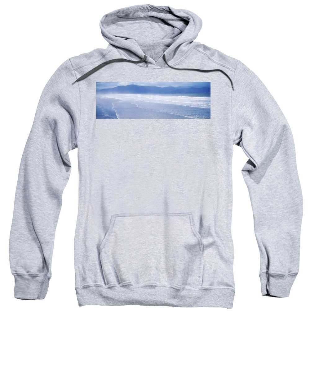 Distance Sweatshirt featuring the photograph Co Kerry, Inch Beach, Ireland by The Irish Image Collection