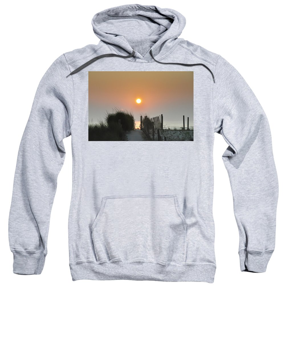 Sunrise Sweatshirt featuring the photograph Come Greet The Sunrise by Bill Cannon