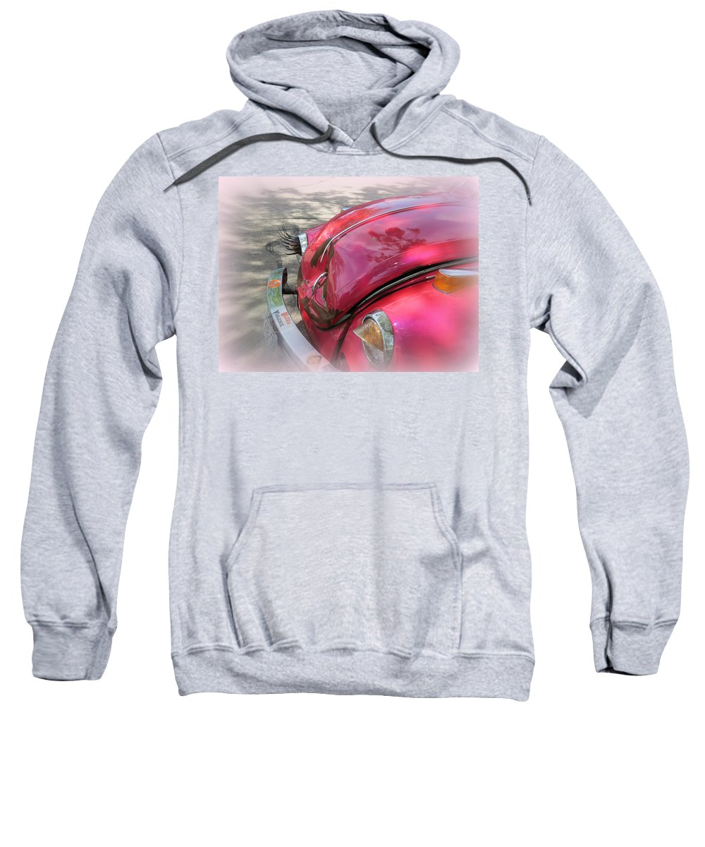 Comical Sweatshirt featuring the photograph Comical Volkswagen by Kay Novy