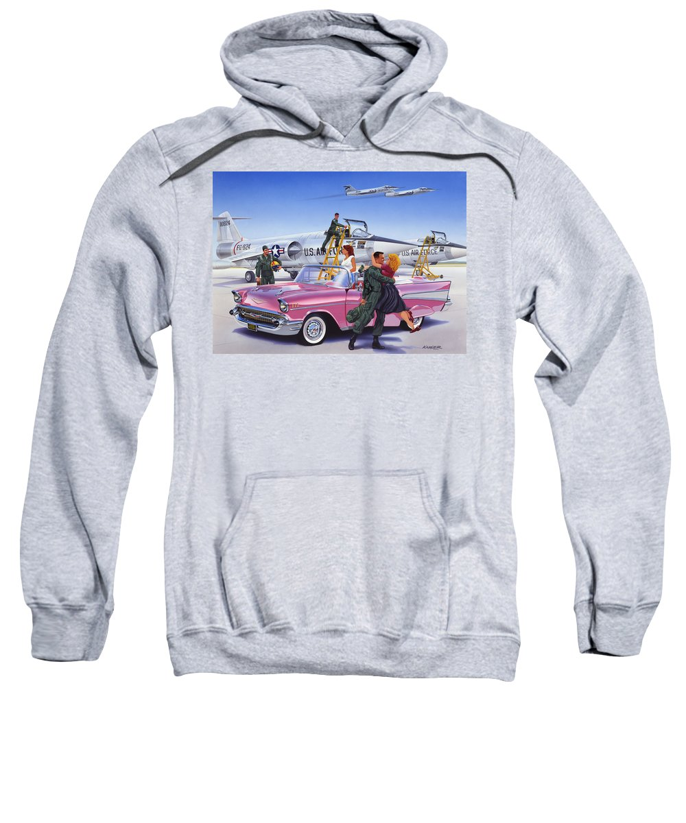 Adult Sweatshirt featuring the photograph Coming Home by Bruce Kaiser