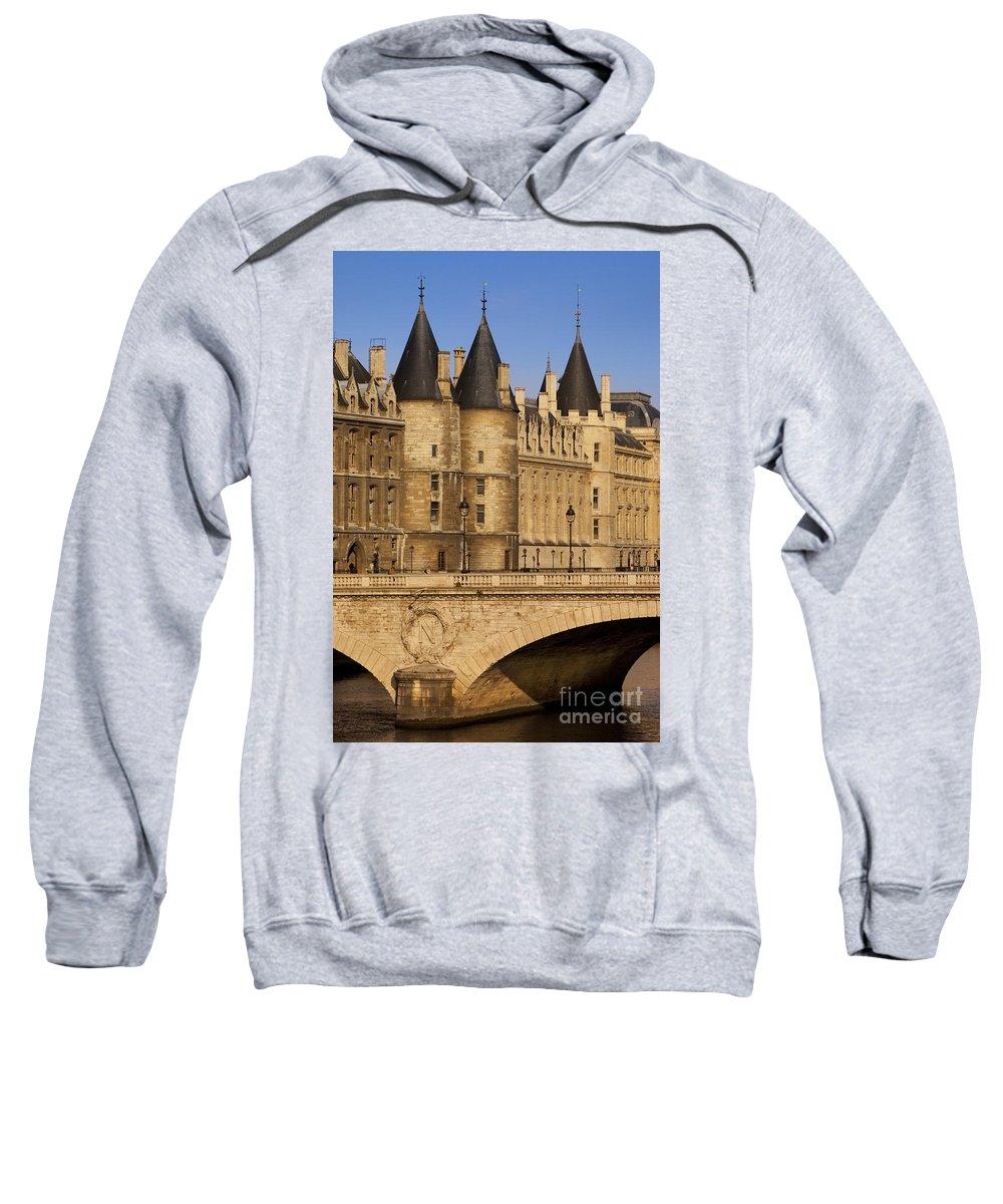 River Sweatshirt featuring the photograph Conciergerie by Brian Jannsen