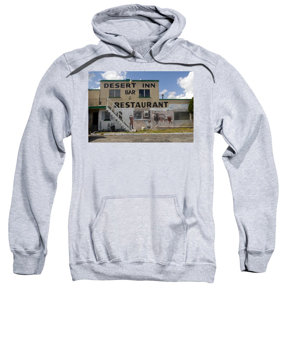 Florida Cracker Country Sweatshirt featuring the photograph Cracker Country by David Lee Thompson