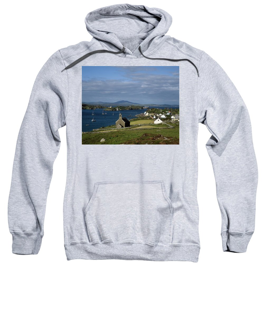 Boat Sweatshirt featuring the photograph Crookhaven, Co Cork, Ireland by The Irish Image Collection