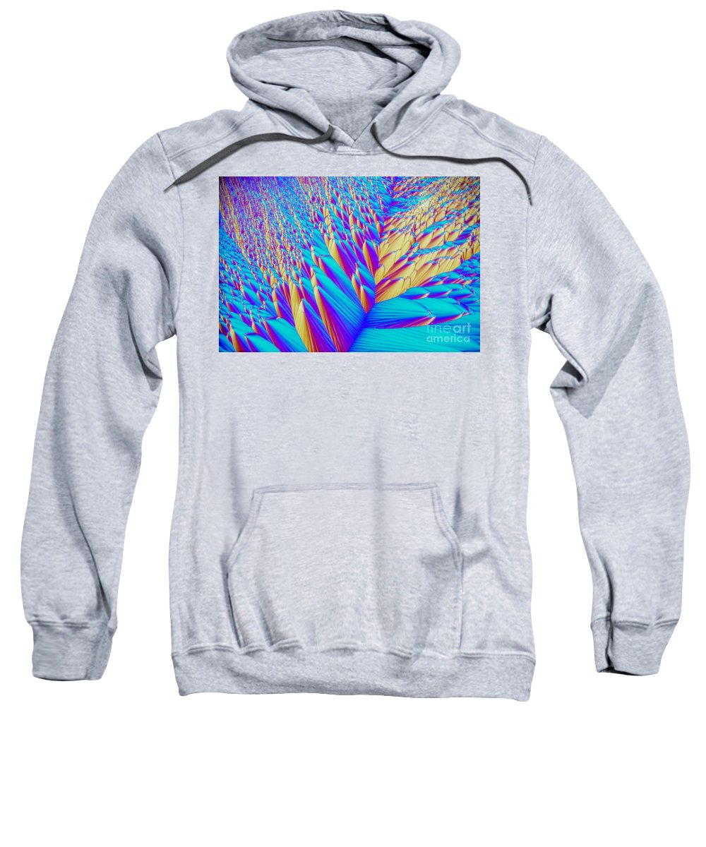 Chemistry Sweatshirt featuring the photograph Crystal Vitamin C by M I Walker