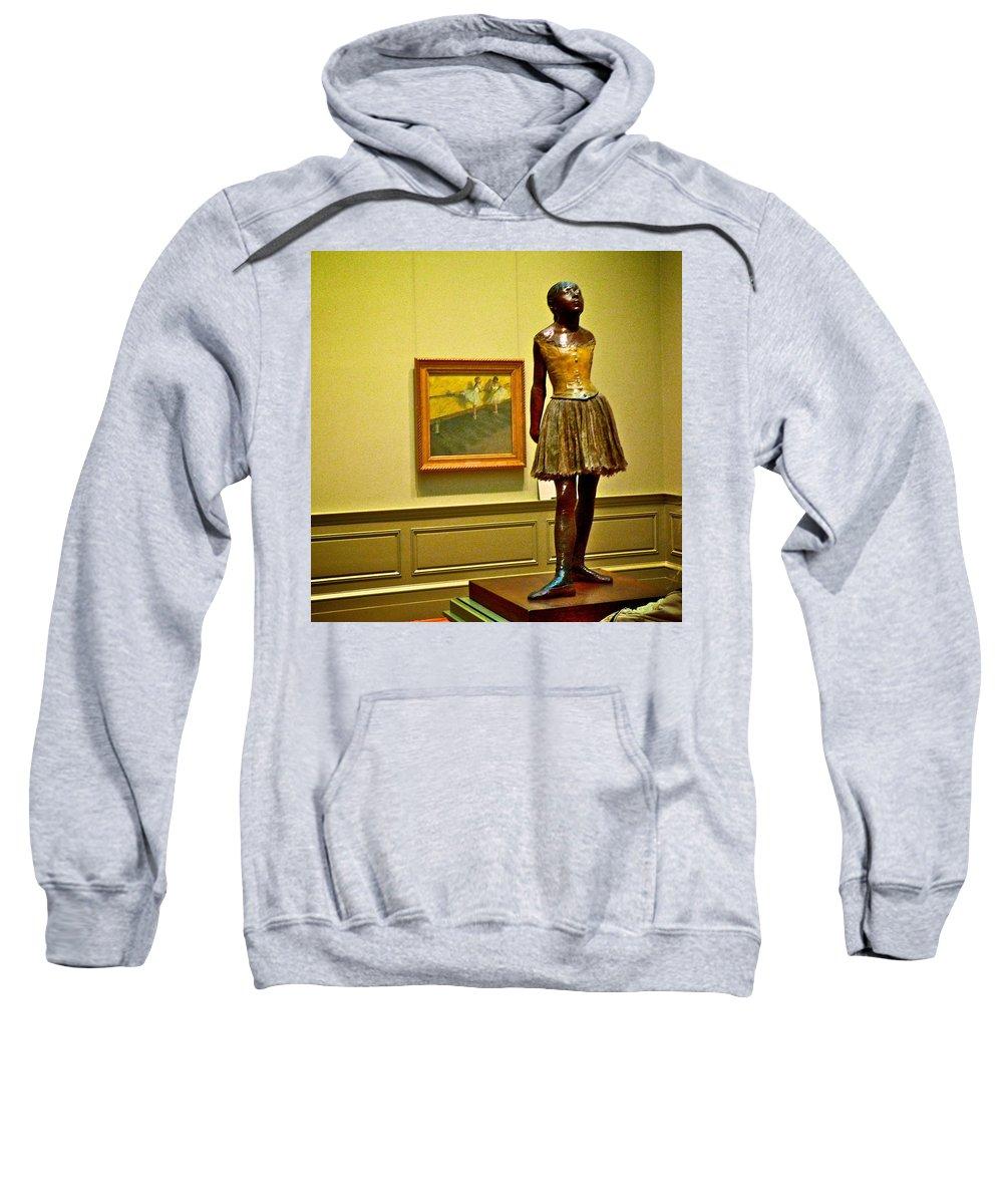 Degas Sweatshirt featuring the photograph Degas by Eric Tressler