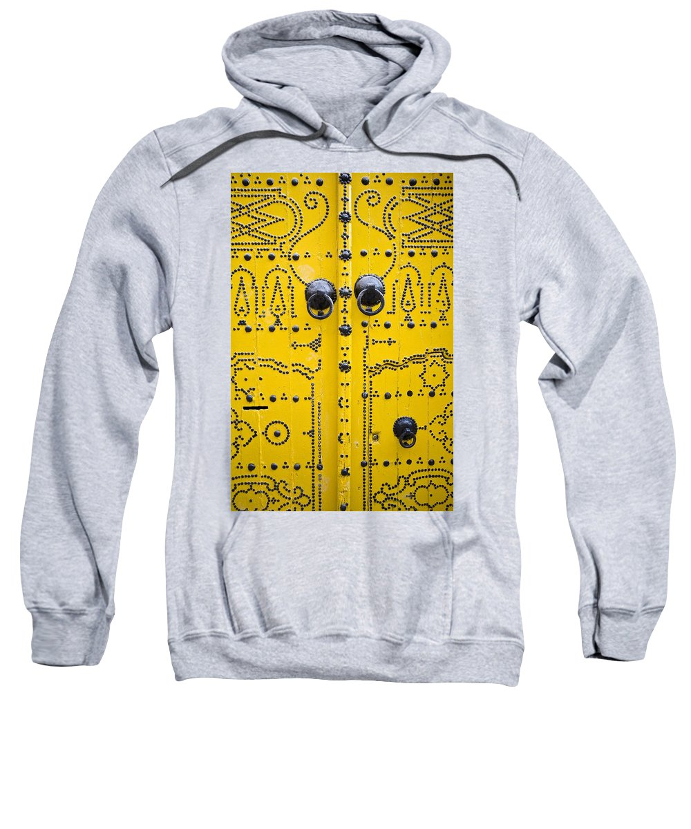 African Sweatshirt featuring the photograph Detailed Architecture, Tunis, Tunisia by David DuChemin