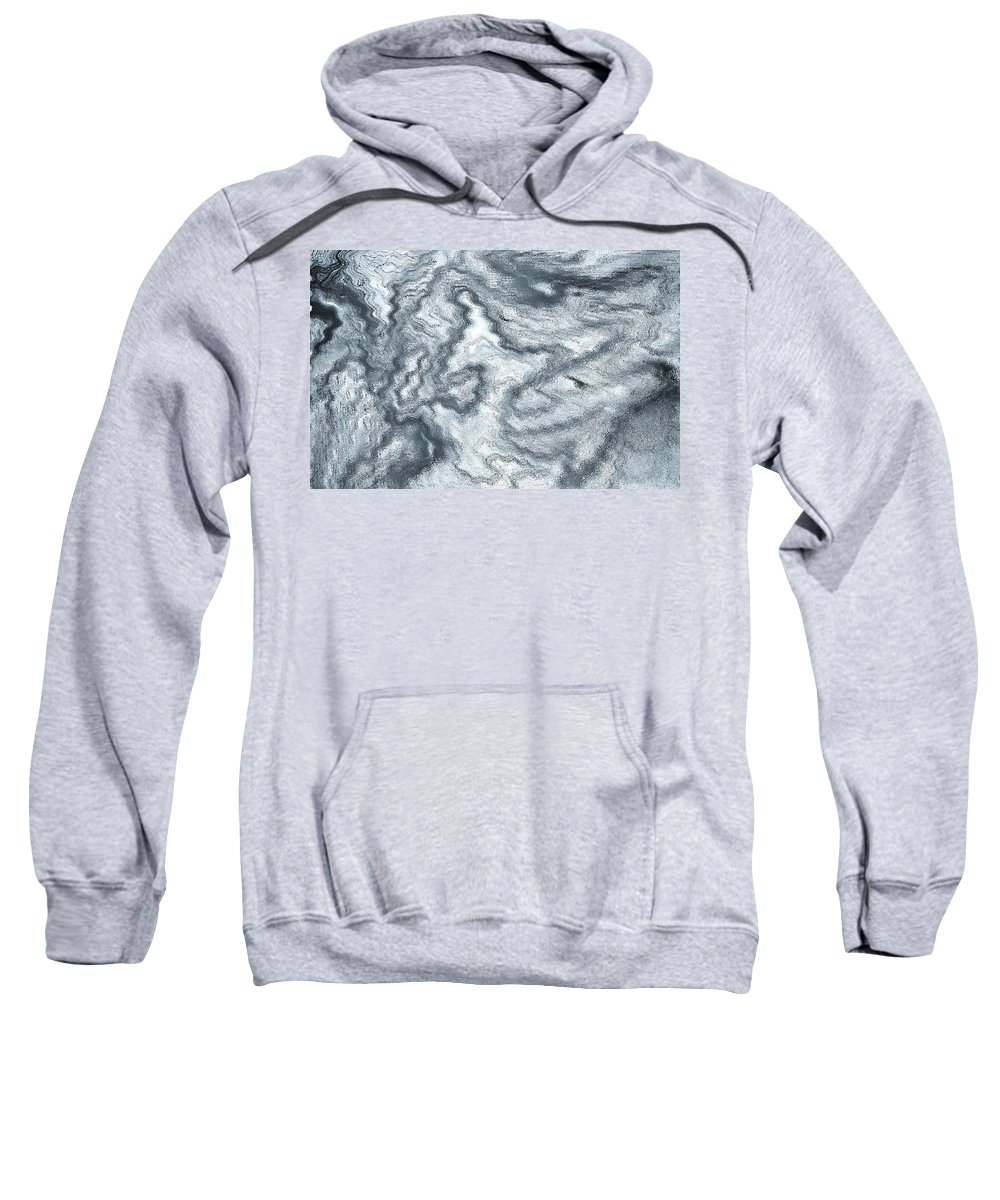 Digital Sweatshirt featuring the digital art Digital Art by David Pyatt