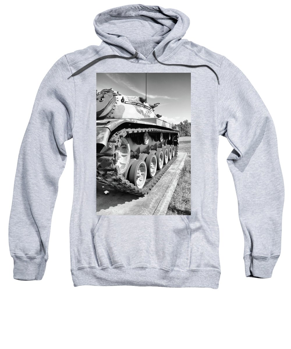 Guy Whiteley Photography Sweatshirt featuring the photograph Don't Tread On Me by Guy Whiteley