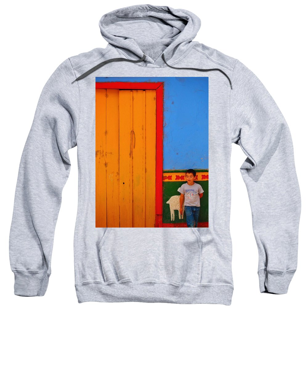 Dreams Of Kids Sweatshirt featuring the photograph Dreams Of Kids by Skip Hunt