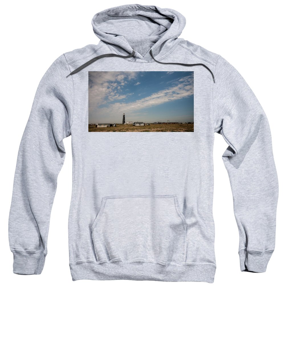 Boat Sweatshirt featuring the photograph Dungeness Landscape by Dawn OConnor