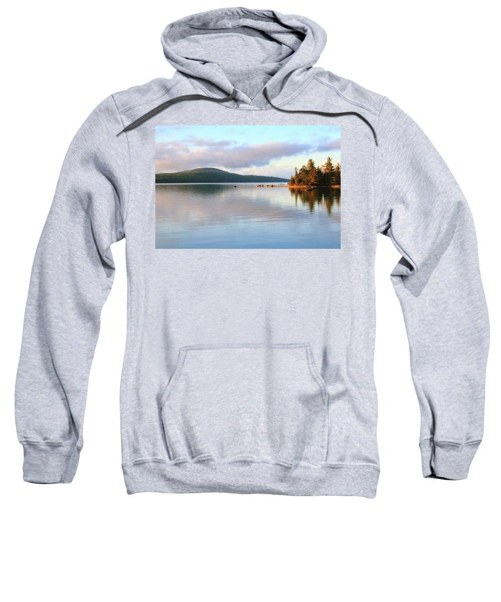 Eagle Lake Sweatshirt featuring the photograph Eagle Lake by Roupen Baker
