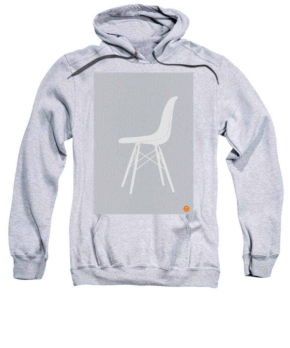 Eames Chair Sweatshirt featuring the photograph Eames Fiberglass Chair by Naxart Studio