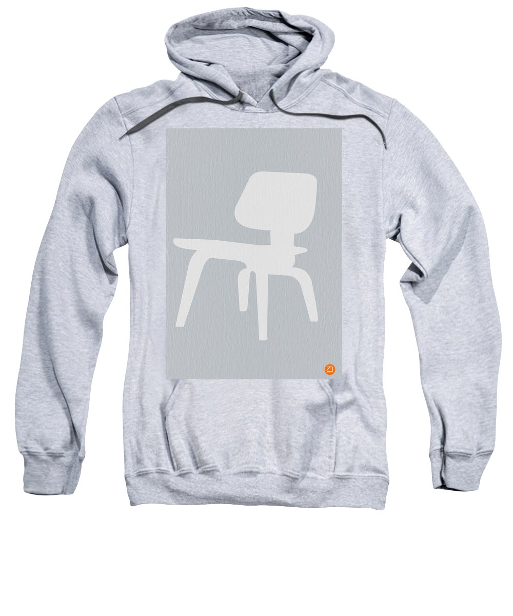 Eames Sweatshirt featuring the photograph Eames Plywood Chair by Naxart Studio