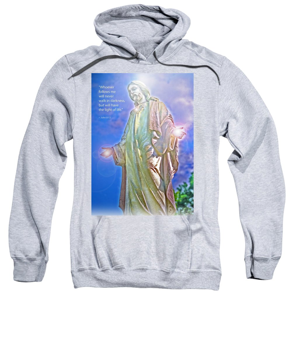 Jesus Sweatshirt featuring the photograph Easter Miracle by Marie Hicks