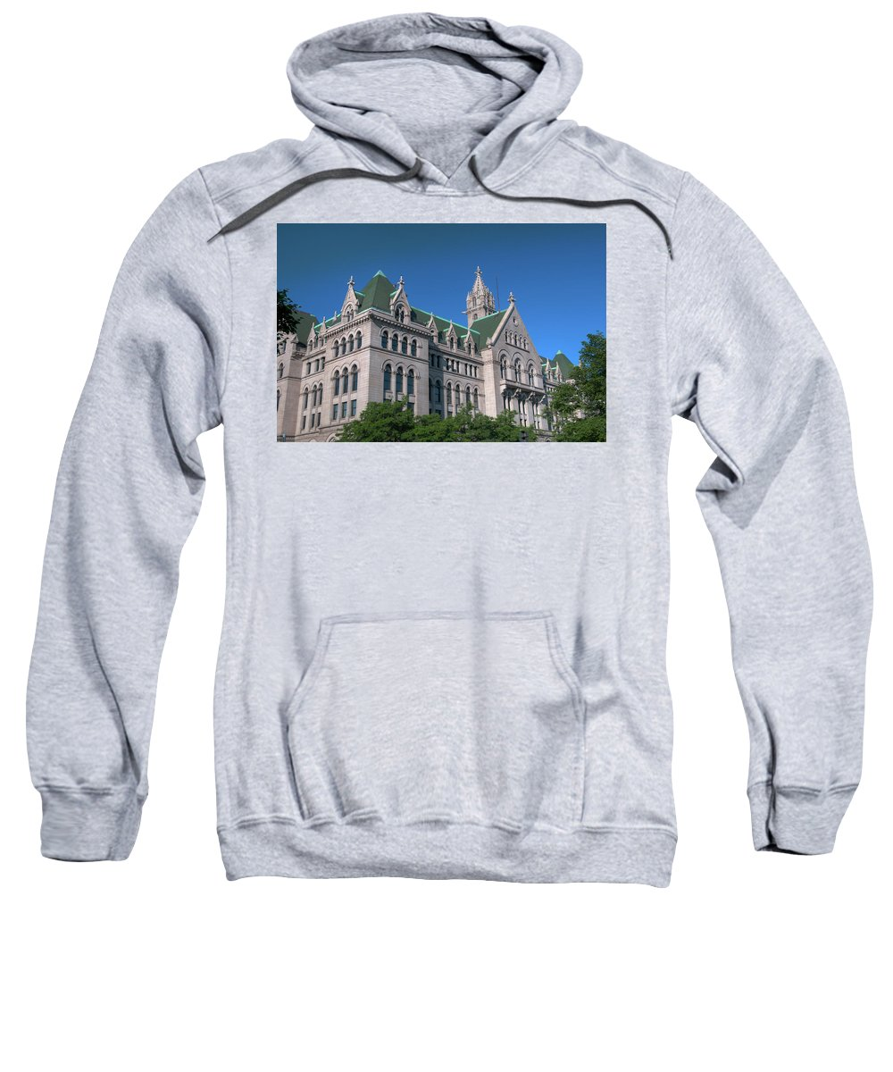 Architecture Sweatshirt featuring the photograph Ecc 0946c by Guy Whiteley