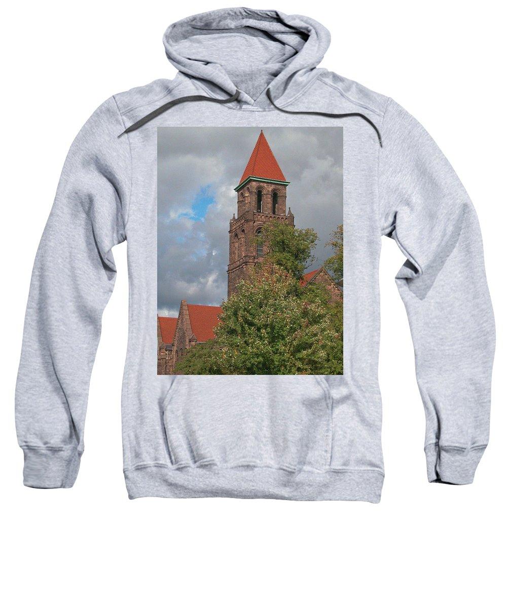 Buffalo Sweatshirt featuring the photograph Elmwood Avenue 13091 by Guy Whiteley