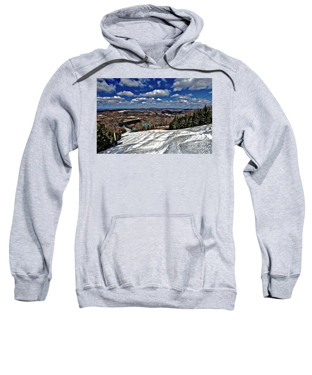 Skiing Sweatshirt featuring the photograph Endless Spring by Adam Jewell