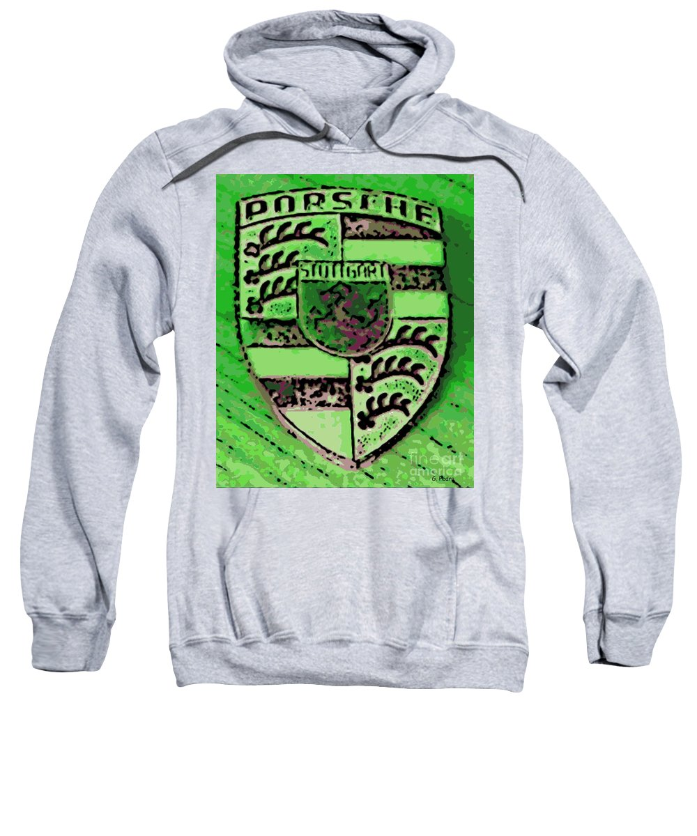 Porsche Sweatshirt featuring the photograph Envy by George Pedro