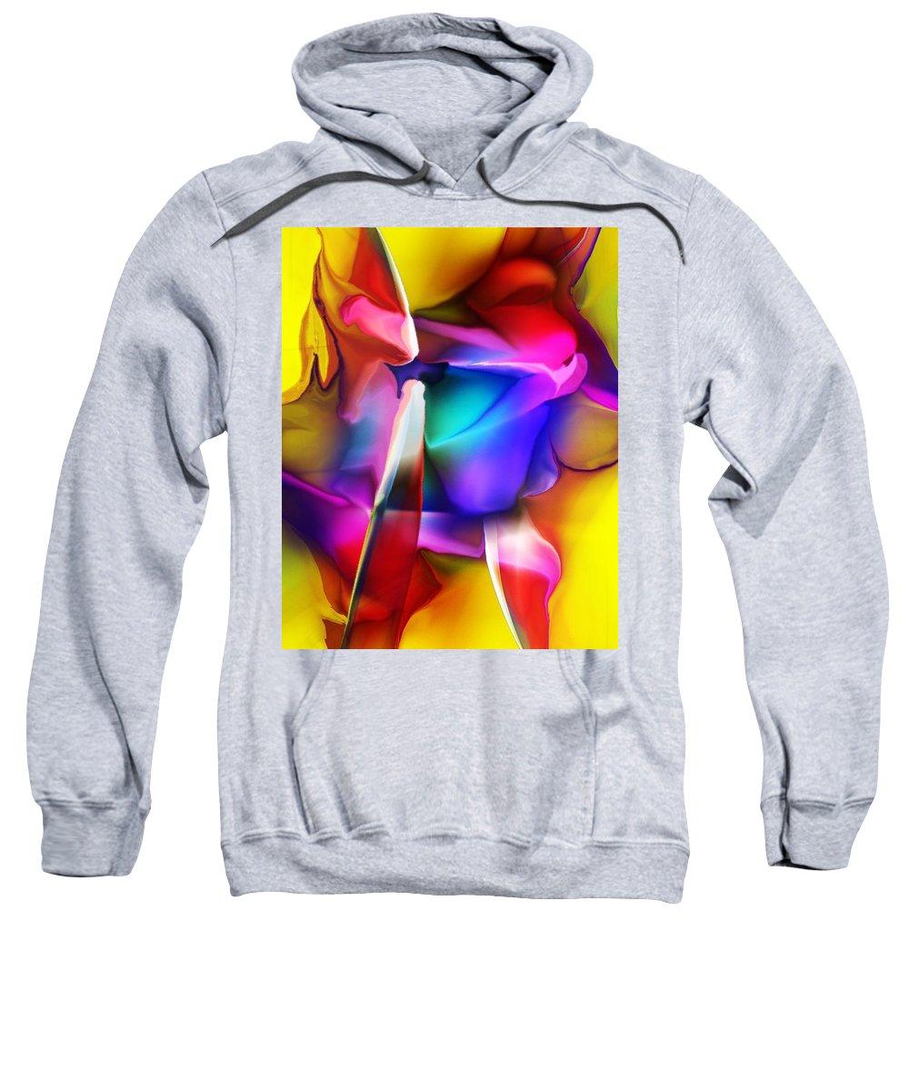 Fine Art Sweatshirt featuring the digital art Erotica Intended by David Lane
