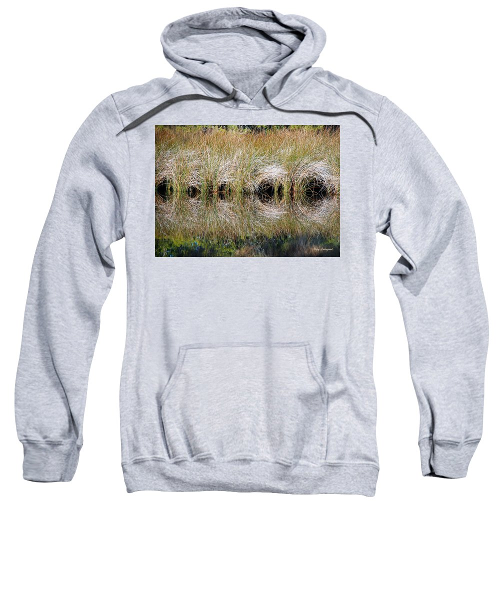 Reeds Sweatshirt featuring the photograph Escape Hatches by Kay Lovingood