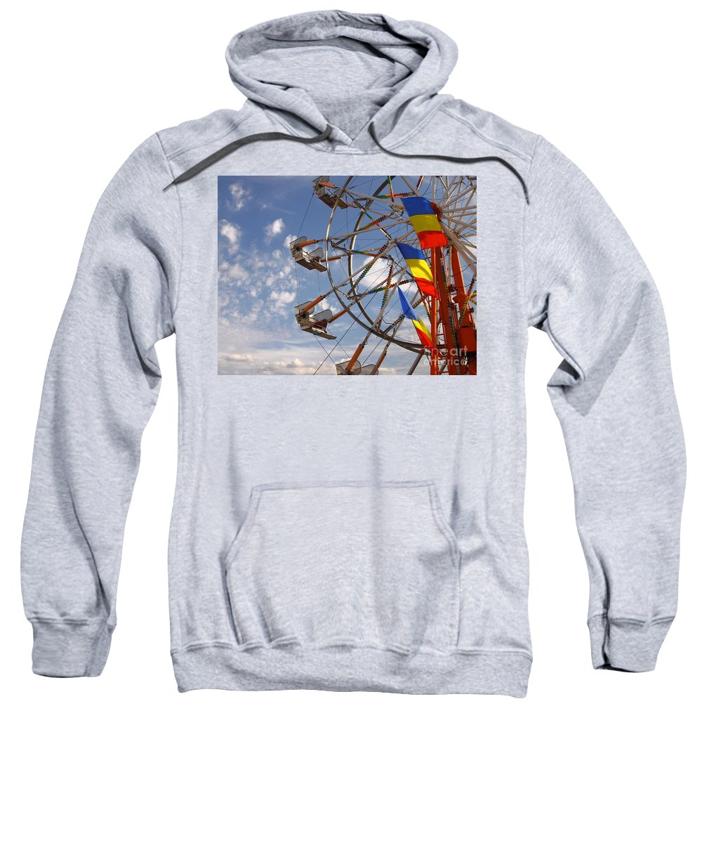 Carnival Sweatshirt featuring the photograph Fair Day by Robert Frederick