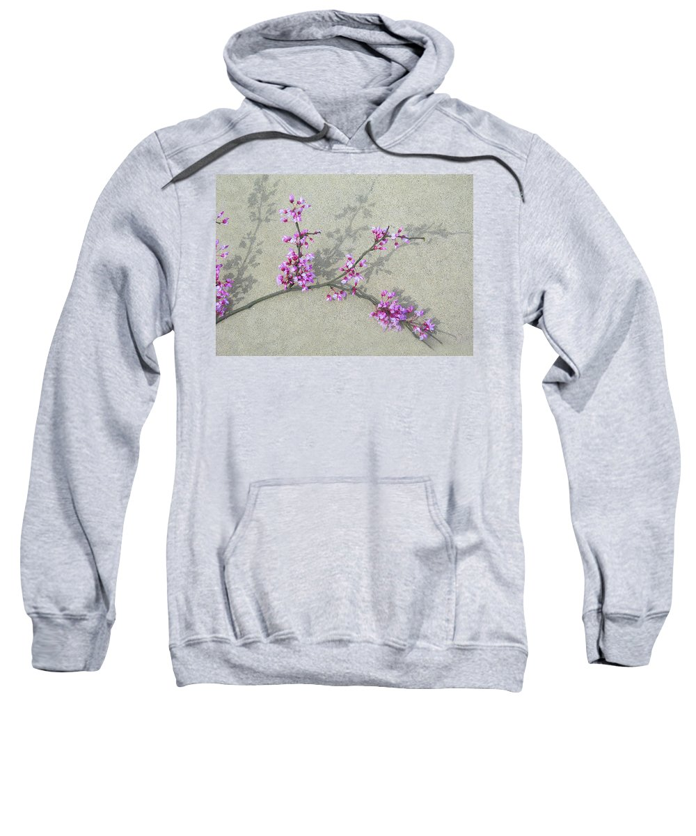 Flower Sweatshirt featuring the photograph Fallen Beauty by Skip Willits