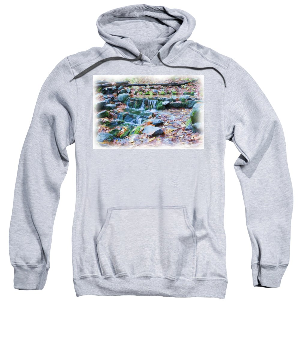 Yosemite Sweatshirt featuring the photograph Fern Spring In Autumn by Heidi Smith