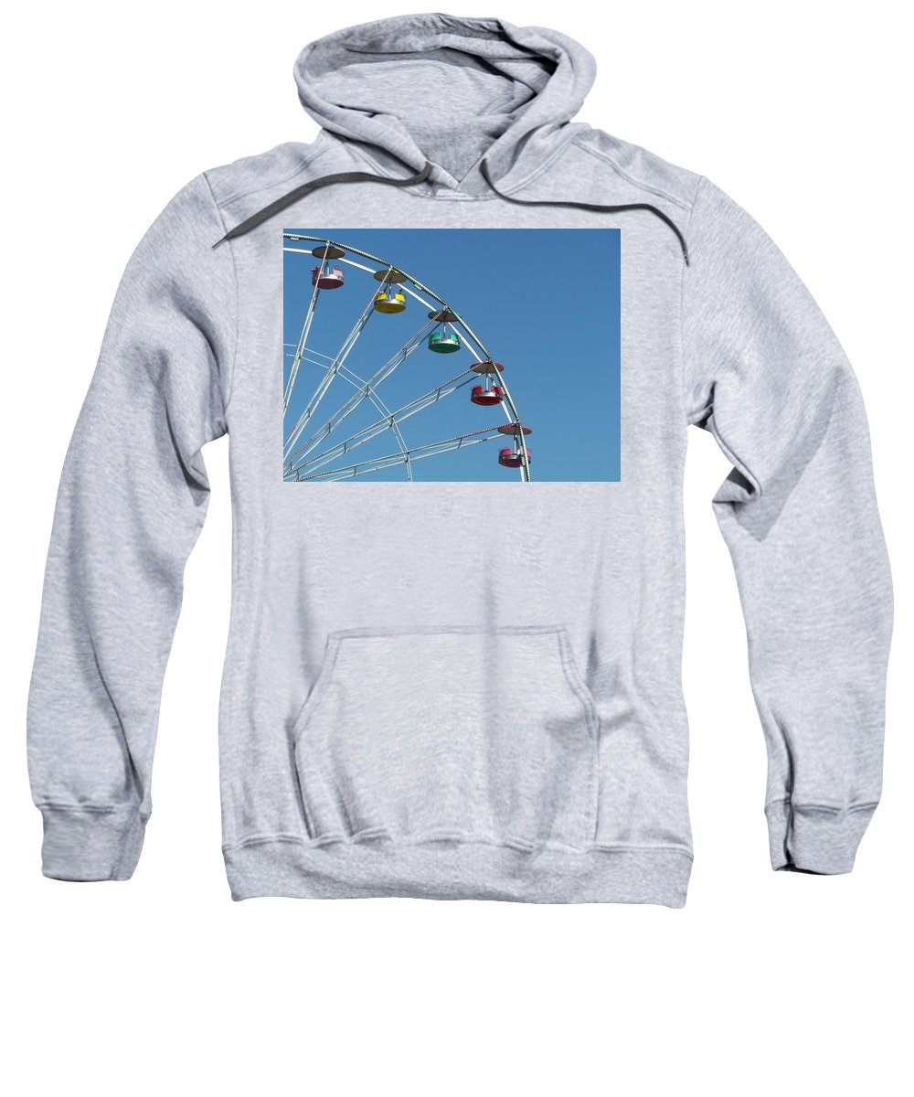 Ferris Wheel Sweatshirt featuring the photograph Ferris Wheel by Michele Nelson