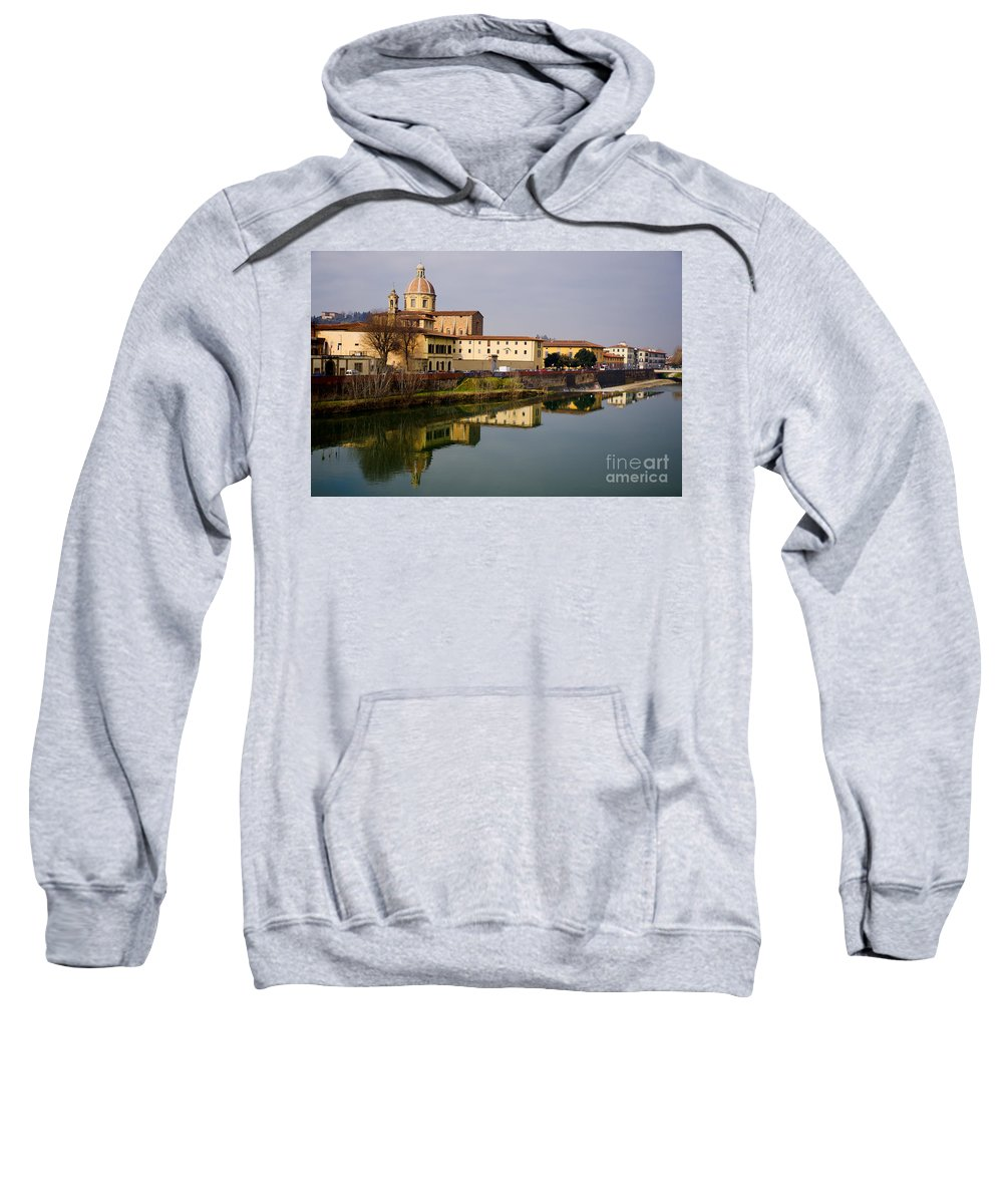 Building Sweatshirt featuring the photograph Florence by Mats Silvan