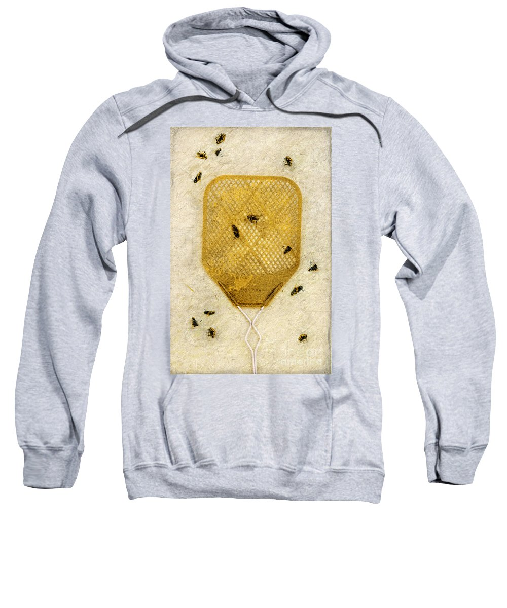 Fly Swatter Sweatshirt featuring the photograph Flyswatter by Jill Battaglia