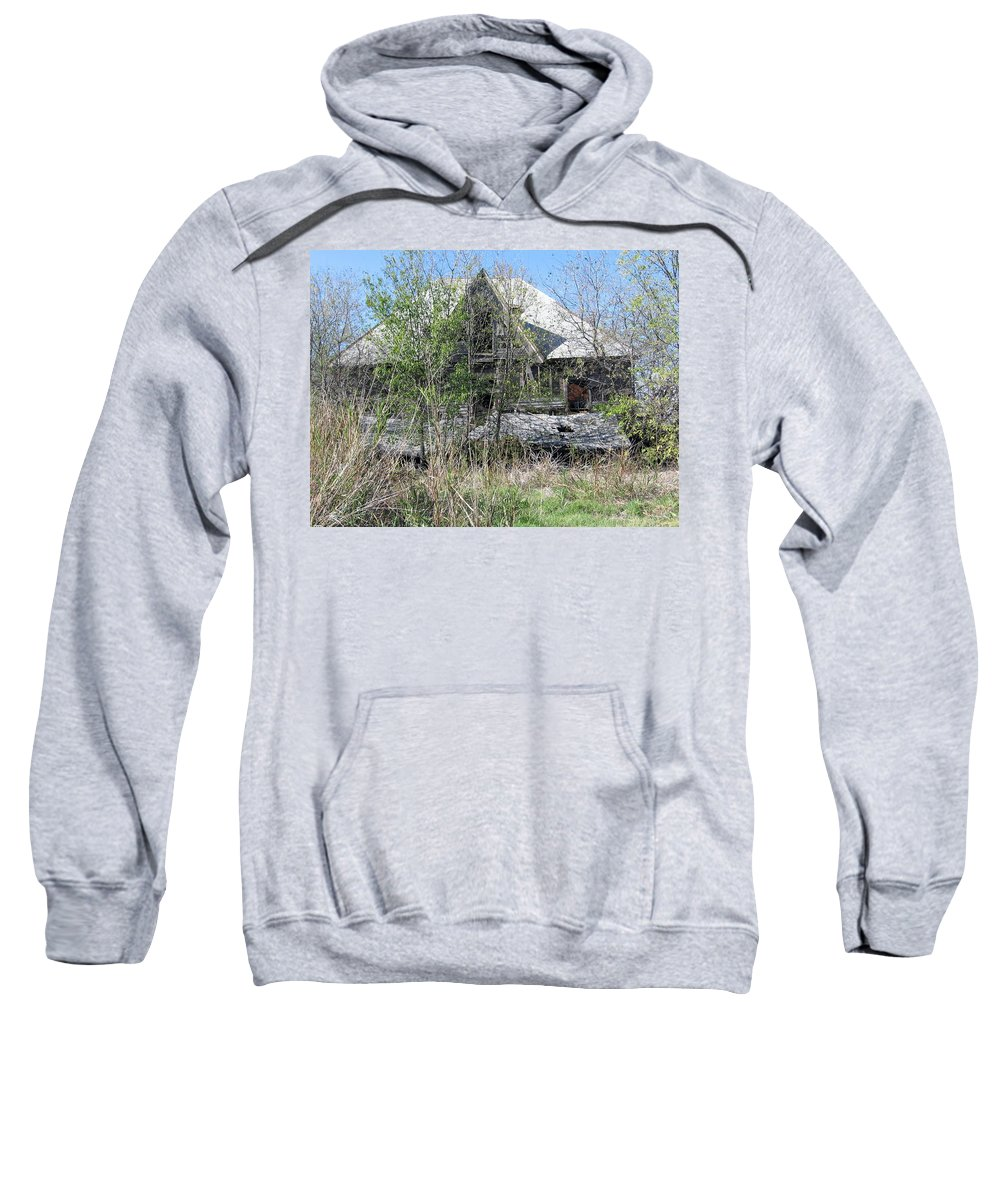 Sweatshirt featuring the photograph Forgotten 8 by Amy Hosp