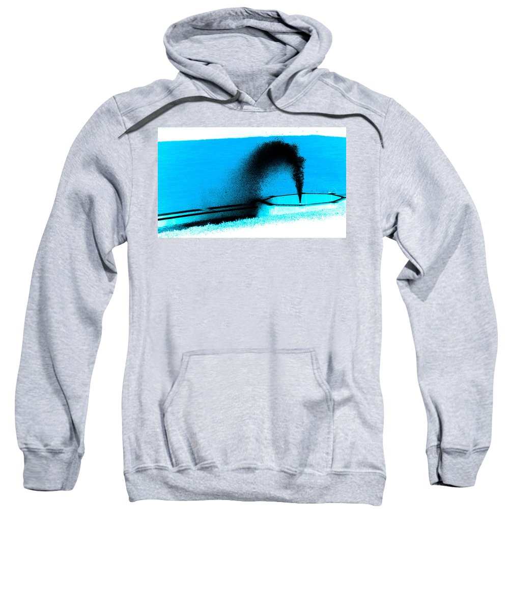Water Sweatshirt featuring the photograph Fountain Of Youth by Trish Tritz