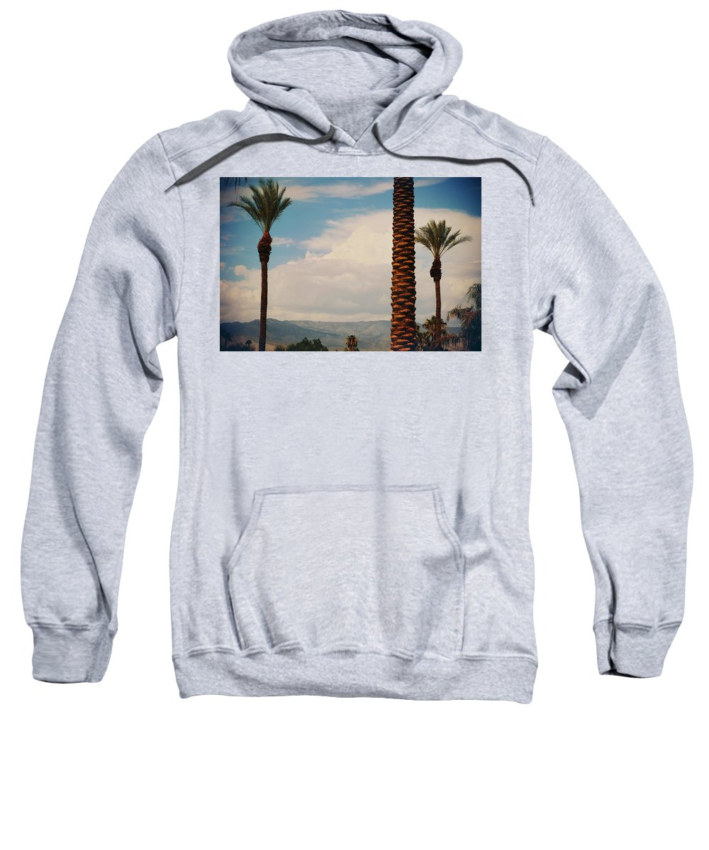 La Quinta Sweatshirt featuring the photograph From Today On by Laurie Search